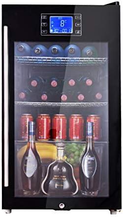 Wine Cooler TX Enfriador de Vino termoeléctrico de Mesa de Lujo, Menos Ruido y vibración, botellero Original de Acero Inoxidable (Baja energía, Negro, 110L)