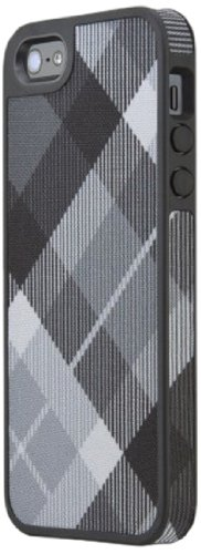 Speck SPK-A1590 FabShell Mega Plaid Case für Apple iPhone 5 schwarz