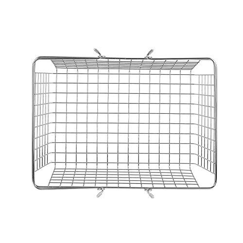 spectrum diversified wire storage basket  large  chrome