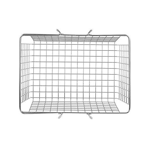 spectrum diversified wire storage basket  large  chrome