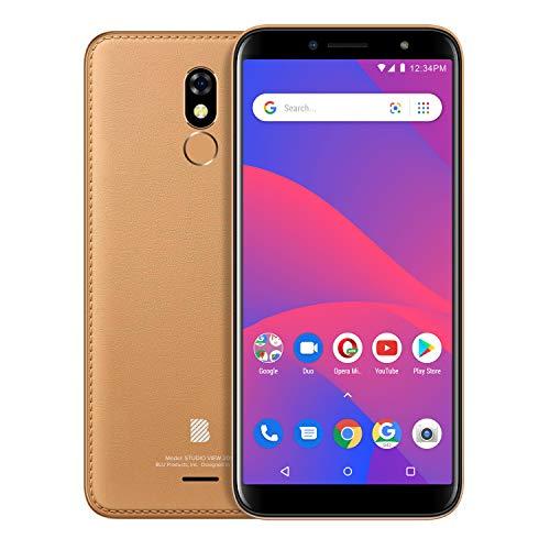 "BLU Studio View 2019 - 6.0"" GSM Unlocked Smartphone, 32GB+1GB RAM -Brown"