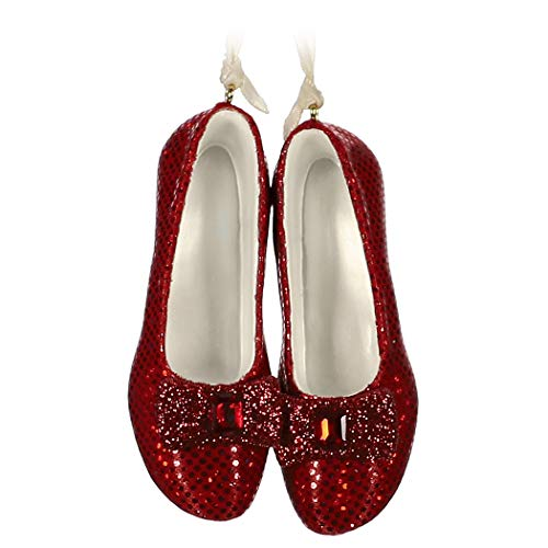 Hallmark Keepsake Christmas Ornament 2019 Year Dated The Wizard of Oz Ruby Slippers (Best Shoes In The World 2019)