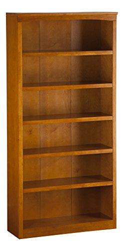 Atlantic Furniture Harvard Book Shelf, 72Inch, Caramel Latte ()