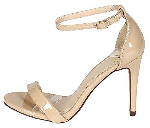 Open Toe Stiletto Heel - 5