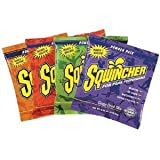 Sqwincher Powder Concentrate Electrolyte Replacement Beverage Mix, 1 gal, Orange 016004-OR (Case of 80)