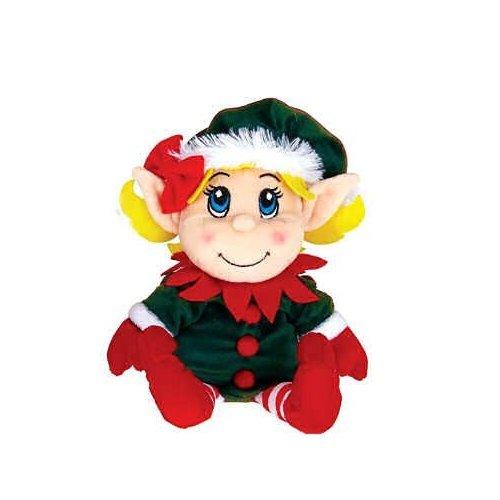 Plush Santa's Secret Elf Girl -