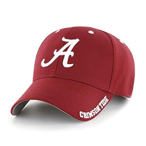 NCAA Alabama Crimson Tide Blight OTS All-Star Adjustable Hat, Razor Red, One Size