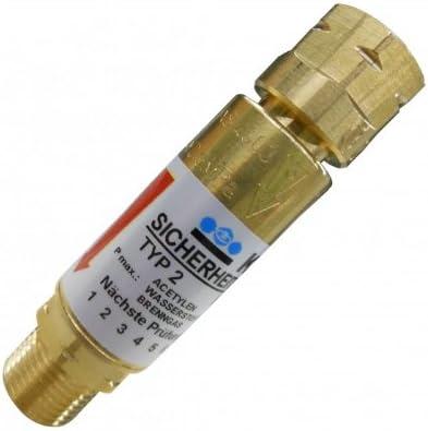 Sauerstoff Explosionsschutz Rückschlagventil Druckminderer Rückschlagsicherung