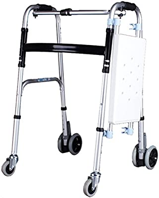 Marco Para Caminar Ligero Plegable Rollator Andador Con ...