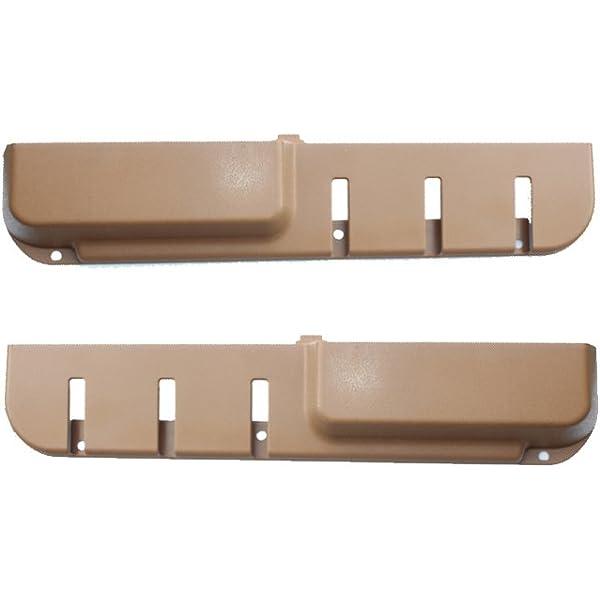 VOLVO 240 door pocket map pocket door panel  beige color Drivers side 1225943