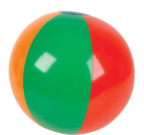 16'' MULTICOLORED BEACH BALL, Case of 144 by DollarItemDirect