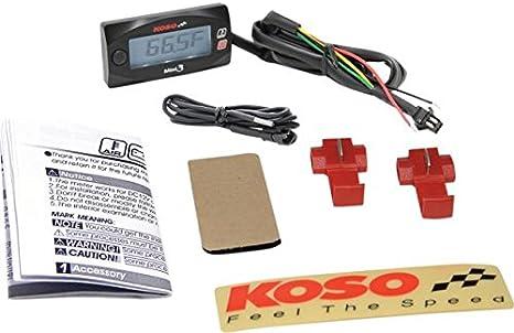 Koso Ba003270 North America Ambient Air Temperature Gauge Küche Haushalt