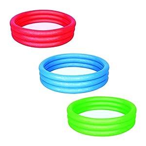 Bestway 51026 - Piscina gonfiabile a 3 anelli, ca. 152 x 30 cm, Colori assortiti 3 spesavip