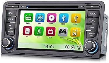 erisin es7683 a reproductor de DVD de coche 7 pulgadas 3 G GPS ...