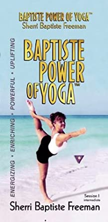Amazon.com: Baptiste Power of Yoga with Sherri Baptiste [VHS ...