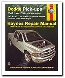 Dodge Pick-ups: 2002 thru 2008 (Haynes Repair Manual)