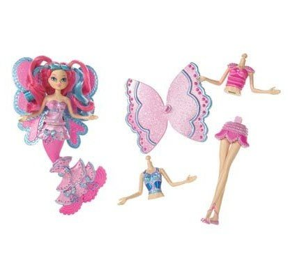 BARBIE FAIRYTOPIA MAKE YOUR OWN MERMAID OR FAIRY