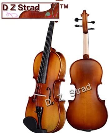 D Z Strad Violin Model 100 With Solid Wood Size 1/4 Violin