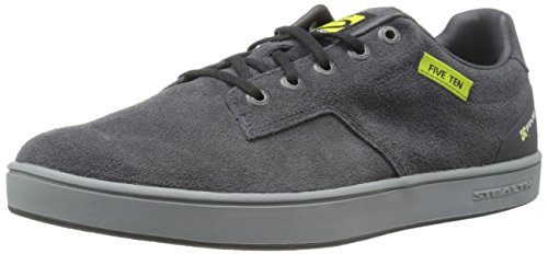 Five Ten Men's Sleuth Cycling Shoe, Black/Lime Punch, 11 M US from Five Ten