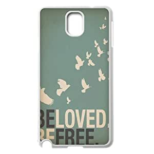 Be Free Unique Design Cover Case for Samsung Galaxy Note 3 N9000,custom case cover ygtg580226