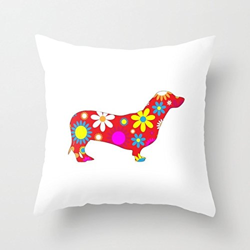 Pillow Shams Of Dogs 18 X 18 Inch / 45 By 45 Cm,best For Play Room, Chair, Indoor, Floor, Outdoor, Dining Room, Office, Home Decortivation, Washington's Birthday, Decoration, Twin Sides Printed