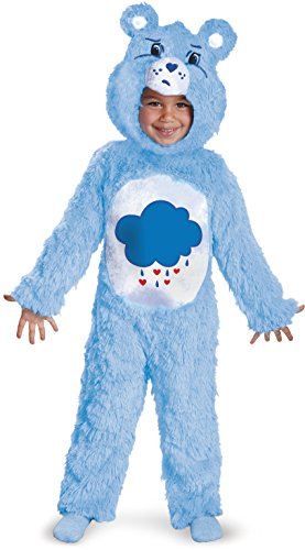 Deluxe Grumpy Bear Toddler Costume - Toddler Small -