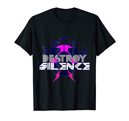 (Membranophone Shirt | Tympan Bass Drum Band Timbrel Bongos )