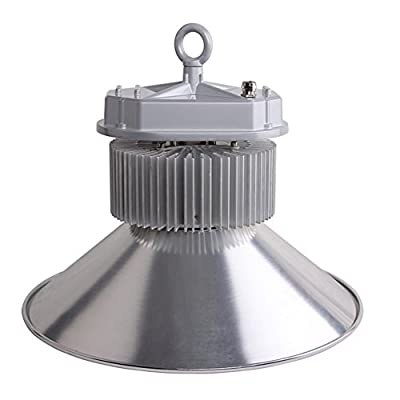 Tongjing 250W 90-265VAC 22000-28000Lm LED High Bay Light Commercial Lighting IP65 Waterproof Protection CE ROHS FCC Certificate BRIDGELUX 45 240pcs Bulbs AL-GKL3-250W