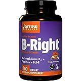 Jarrow Formulas B-right Complex, Supports Engery, Brain and Cardiovascular Health, 100 Veggie Caps