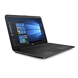 2018 Newest Business Flagship HP Stream Laptop PC with 1-Year Office 14″ HD WLED-backlit Display Intel Celeron Dual Core-Processor 4GB RAM 32GB eMMC Hard Drive Bluetooth HDMI Webcam Windows 10-Black