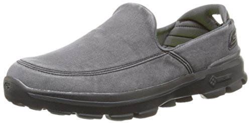 Skechers Performance Men's Go Walk 3 Unwind Slip-On Walking Shoe, Black, 10.5 M US (Skechers Go Walk With Memory Foam)