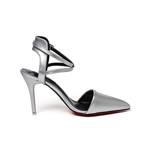 1to9mmsg00003 Sandalo con argento donna zeppa OqZHrSpwOn
