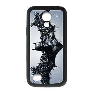 Creative Batman Arkham Knight Logo Custom Case Cover for SamSung Galaxy S4 mini (Laser Technology)