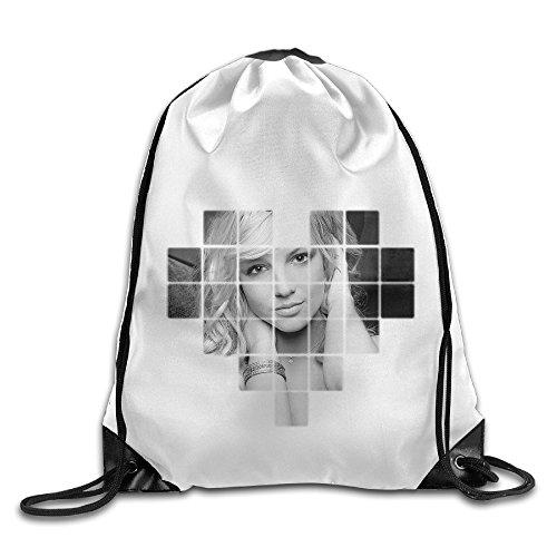 Bekey Britney Spears Gym Drawstring Backpack Bags For Men & Women For Home Travel Storage Use Gym Traveling Shopping Sport Yoga
