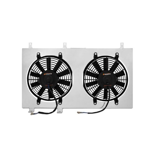 Price comparison product image Mishimoto MMFS-RX8-04 Mazda RX-8 Performance Aluminum Fan Shroud Kit,  2004-2008,  Silver