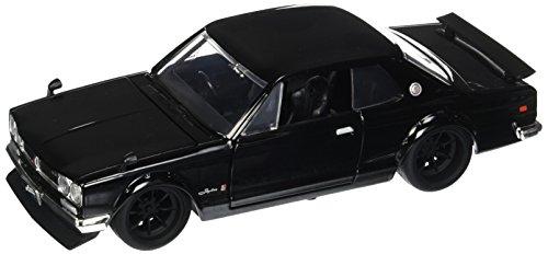 Jada Toys Fast & Furious 1:24 Nissan Skyline 2000 GTR 1 Brian's, Black ()