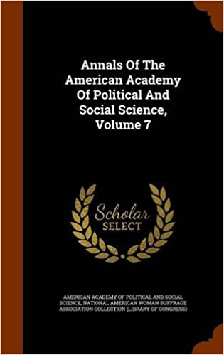 Download ebook gratis det Annals Of The American Academy Of Political And Social Science, Volume 7 in Danish PDF RTF