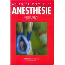 atlas de poche d'anesthesie