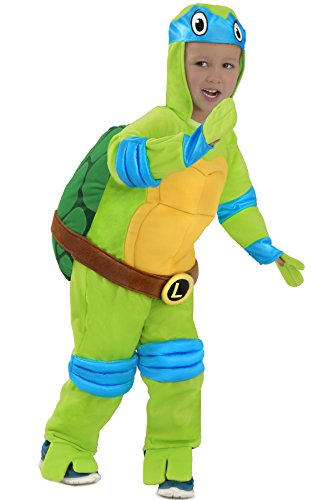 Princess Paradise Baby Boys Tmnt Leonardo Jumpsuit, Green, 18 (Teenage Princess Costumes)