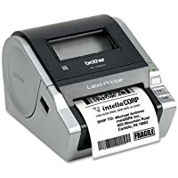 Brother QL-1060N Network Thermal Label Printer Monochrome - Thermal Transfer - 4.33 in/s Mono - 300 dpi - Serial, USB
