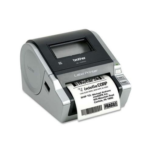Brother QL-1060N Network Thermal Label Printer Monochrome – Thermal Transfer – 4.33 in/s Mono – 300 dpi – Serial, USB