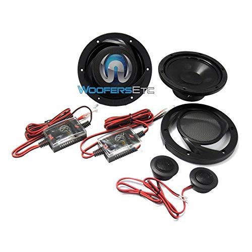 Memphis Audio PRS6V2 6.5 2 Way Component Speakers