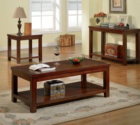 Atop Drawer Wood Console Table - 9