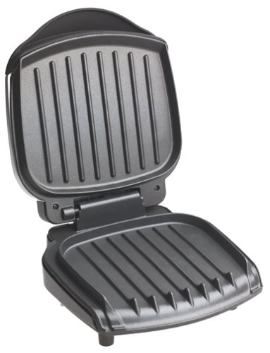 George Foreman Grilling in Hot Metals, Silver