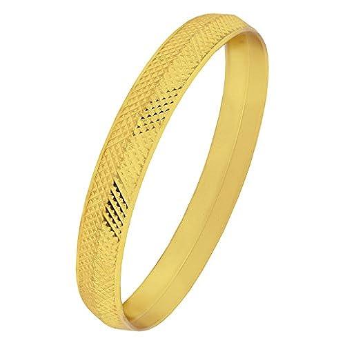 27e0c37fc148 Envio gratis La Jewelbox tradicional 22 K Metal chapado en oro Kada brazalete  para hombre