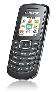 "Samsung E1080w - Móvil libre (pantalla de 1,43"" 128 x 128) color negro [importado de Alemania]"