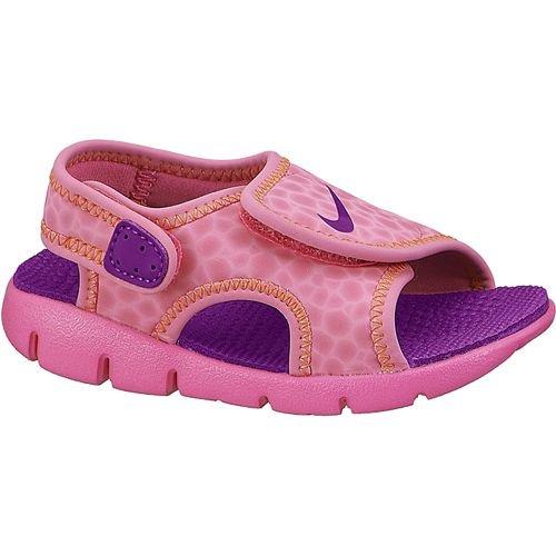269331e09 Nike Toddler Girls Sunray Adjust 4 Sandals Pink Pow Bold Berry Total Orange  6C (B00KRTPL3U)