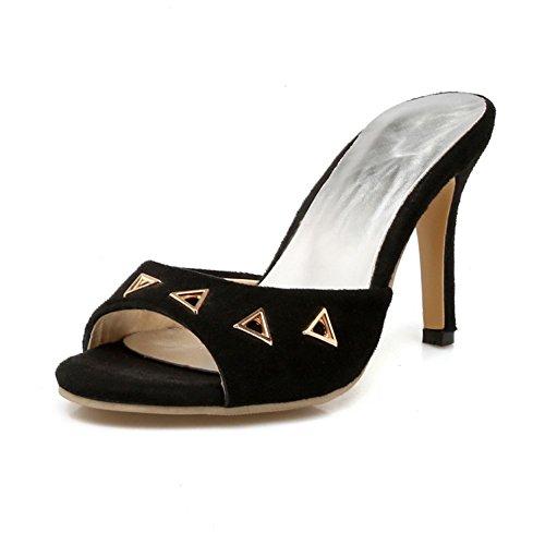 Sandalo Con Punta Aperta In Similpelle Tacco Alto Da Donna Easemax Easemax Donna   2afa74