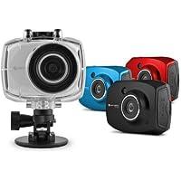 SportsCam EVH528 Digital Camcorder - 2.4 - Touchscreen LCD - CMOS - Full HD - Black
