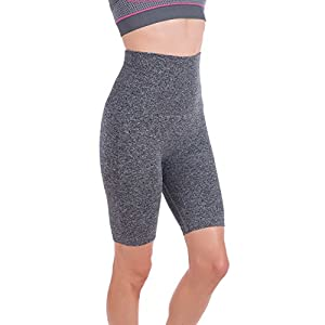 Homma Women's Tummy Control Fitness Workout Running Bike Shorts Yoga Shorts